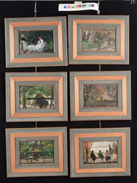 paesaggi (6 works) by erma zago