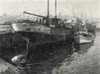 pesquero en el puerto de valencia by ricardo cejudo nogales