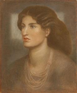 a portrait by dante gabriel rossetti