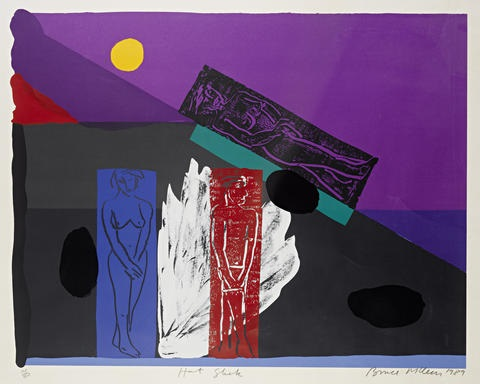 hot slick by bruce mclean