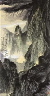 黄山群峰 (huangshan peaks) by hong chao