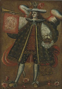 the archangel gabriel by peruvian school-cuzco (18)