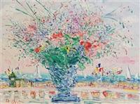 vase bleu a nice by duane alt