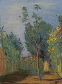 giardino del forte (garden of forte) by achille funi