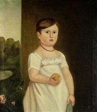 martha chaplin, aged 3 years by charles meer webb