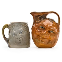 face jugs (2 works) by robert wallace martin