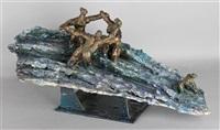 sea piece by ivor abrahams