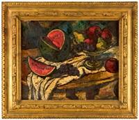 ovocné zátiší na stole by frantisek emler