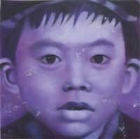 autoportrait mauve no. 3 by li tianbing
