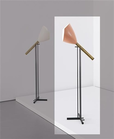 articulated standard lamp by arredoluce co