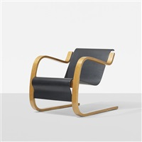 cantilever lounge chair, model 31/42 by alvar aalto