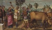 the martyrdom of saint lucy by pietro paolo agabiti