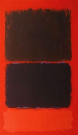 sans titre by mark rothko
