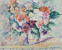 bouquet de fleurs by lucie cousturier