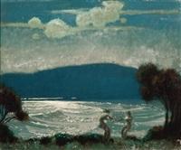 moonlight by frederick william leist