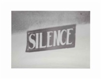 silence (the electric chair) by adam mcewen