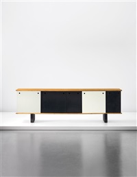 rare and large sideboard (from cité cansado, cansado, mauritania) by charlotte perriand