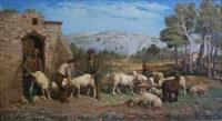 le marquage des moutons by françois simon