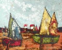 sail boats by henri d' anty