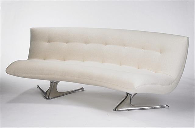 unicorn sofa model u 522 by vladimir kagan