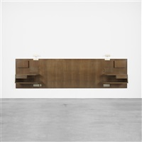 queen-sized headboard by gio ponti