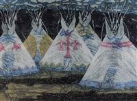 night tipis by helen mackie