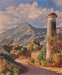 view of pico naiguatá, venezuela by manuel cabré