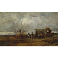 gypsy camp by geza mészöly