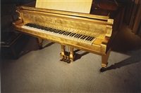 gold piano (from the series graceland) by william eggleston