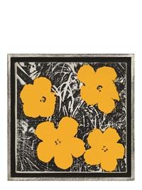 花 (flowers) by andy warhol