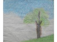 landscape (clapham) by craigie aitchison