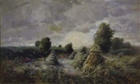 late summer landscape by john semon