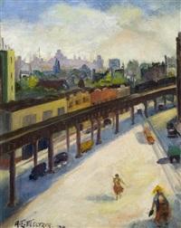 new york city el by anna elkan meltzer