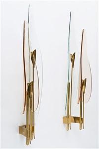 lampade (pair) by fontana arte