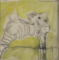 study for origins of the land by graham sutherland