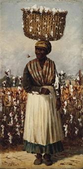 cotton pickers: two works (2 works) by william aiken walker