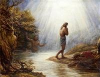 saint john the baptist by john linnell