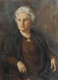 portrait de femme by serge fotinsky