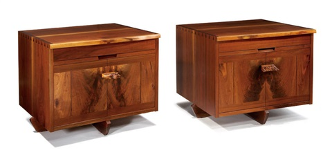 kornblut nightstands 2 works by mira nakashima yarnall