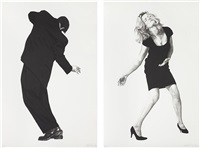raphael (+ barbara; 2 works) by robert longo