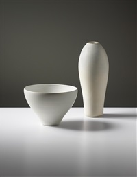 bowl and vase by toini muona