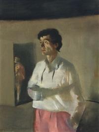 untiled (portrait) by julio larraz