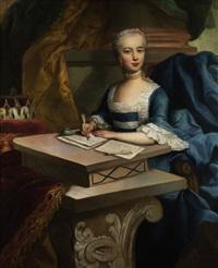 portraitbildnis von maria josepha, tochter von maria theresia by austrian school-vienna (18)
