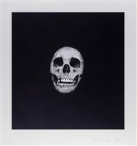 i was once what you are, you will be what i am (skull 06) by damien hirst