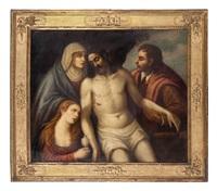 compianto by titian (tiziano vecelli)