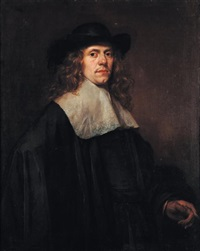 portrait d'homme au chapeau by frans hals the elder