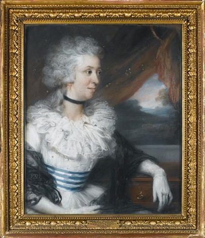 portrait of amelia marsh by john russell