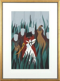 the capture by jacob lawrence