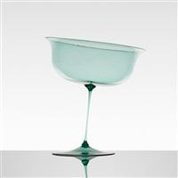 soffiato stemmed vessel by artisti barovier