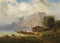 see aus oberbaiern by r. heidland